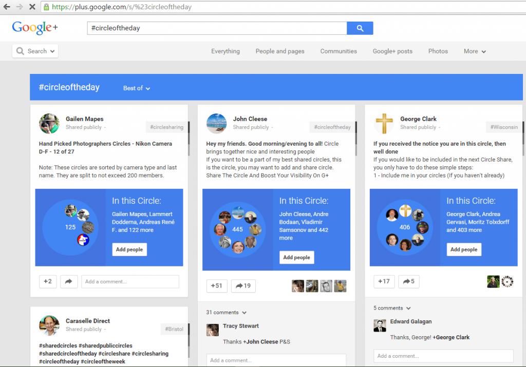 Google-Plus-#Circleoftheday