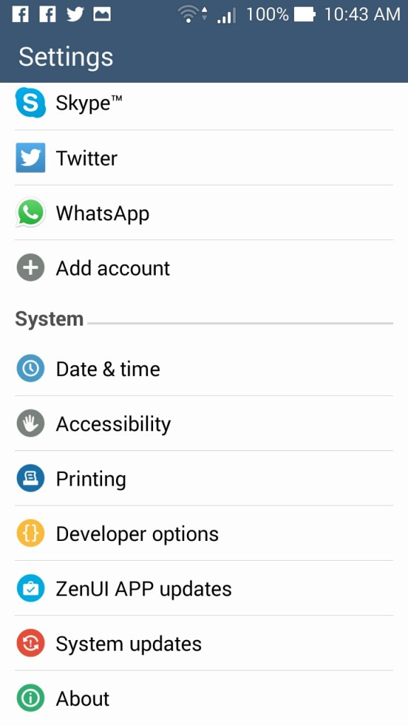 Android+Developer+options
