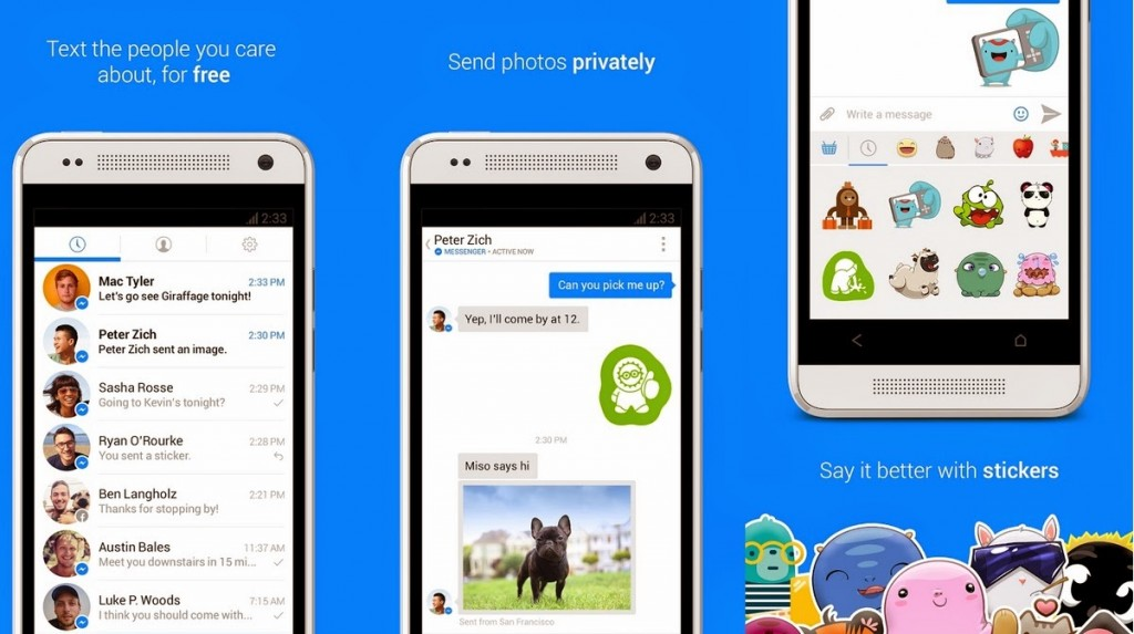 Best Alternatives To WhatsApp - Facebook Messenger