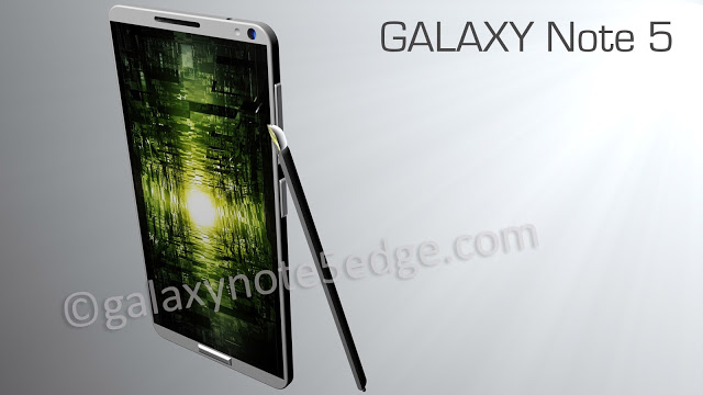Samsung Galaxy Note 5 Concept