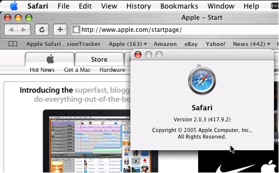 Apple Safari - Top Browser For Mac