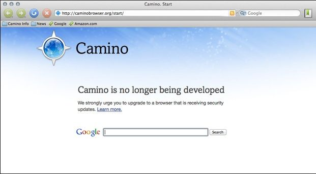 Camino Web Browser For Mac OS