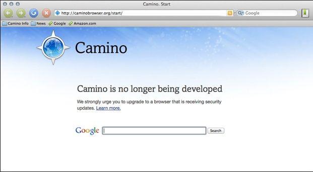 Camino Web Browser
