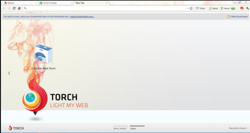 Torch web browser for MAc