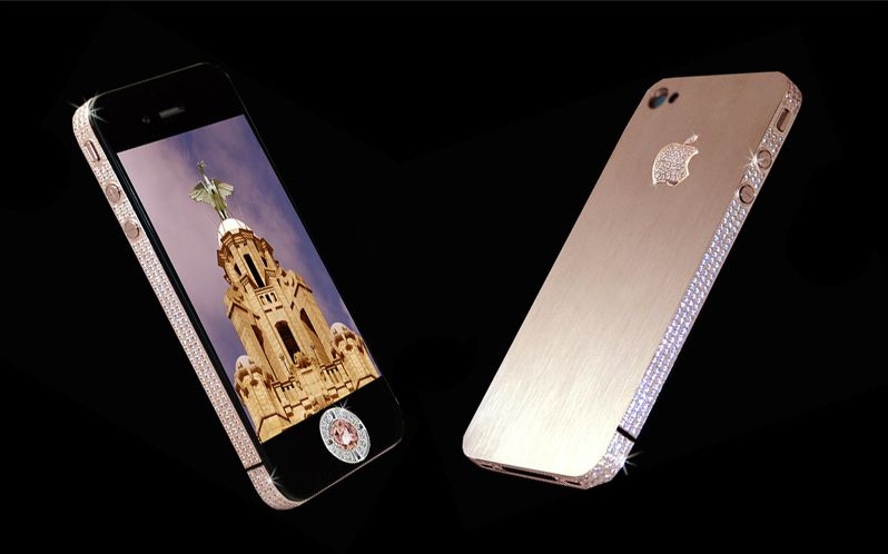 iPhone 4 Diamond Rose Edition - Most expensive smartphone