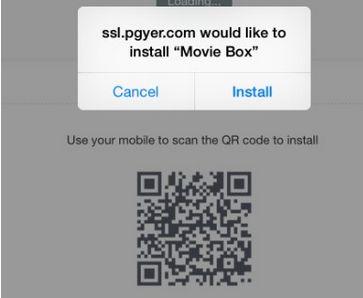 Movie box install