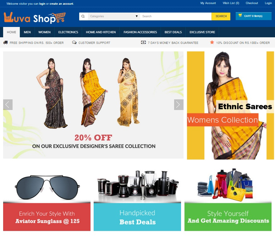 Yuvashop design
