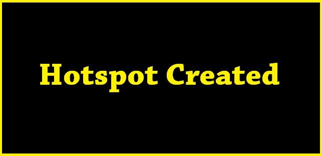 Hotspot For Windows 7