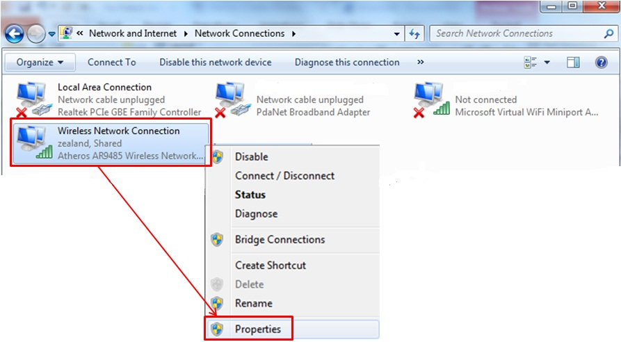 Share a Wired or Wireless Internet Connection in Windows 10