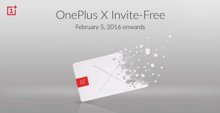 OnePlus X Goes Invite Free.jpg