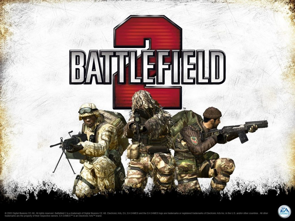 Battlefield 2 - Best Laptop Games