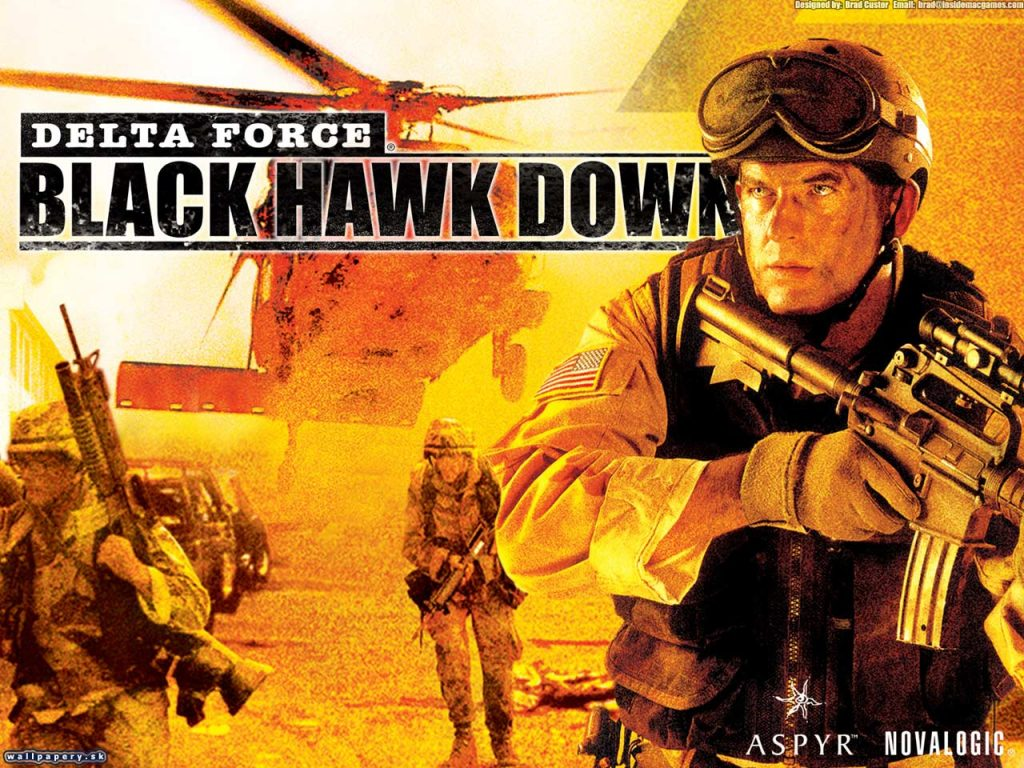Delta Force Black Hawk Down - Low specs laptop games