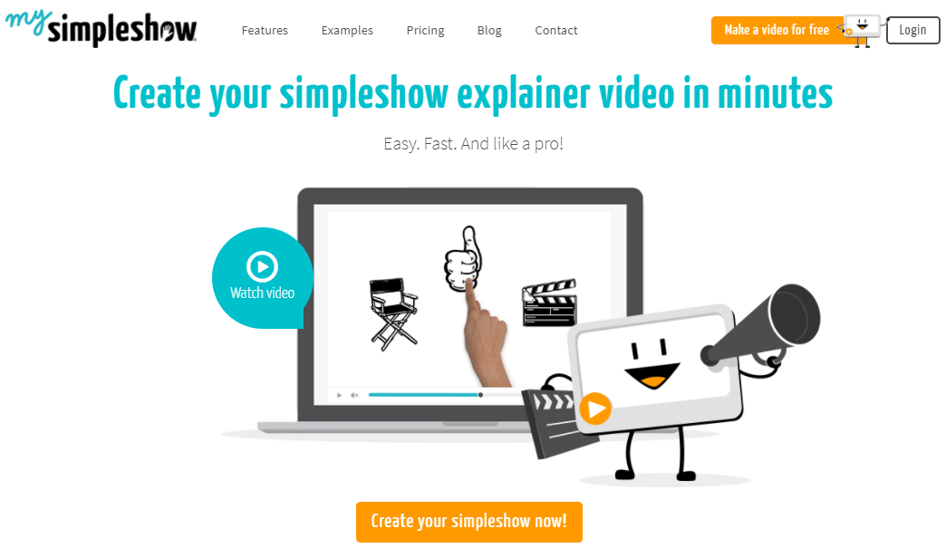 mysimpleshow review - create your own explainer video in minutes