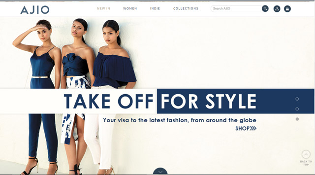 Online fashion shopping sites in india 78