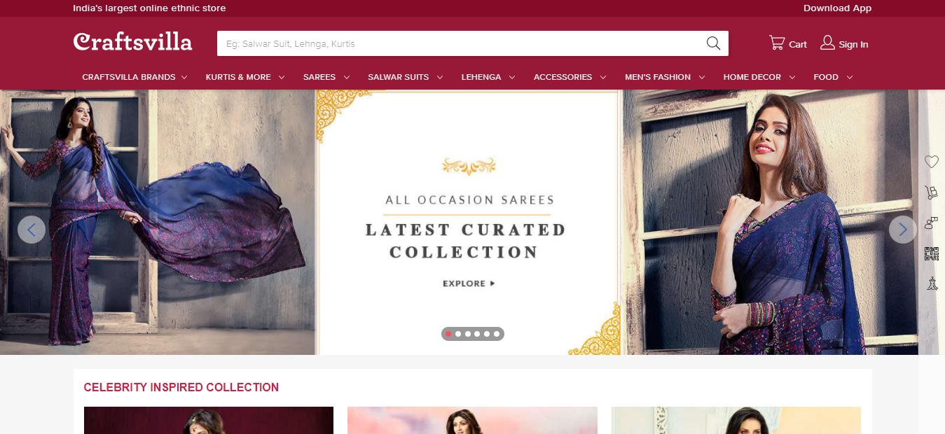 Best Online Shopping Store - Craftsvilla