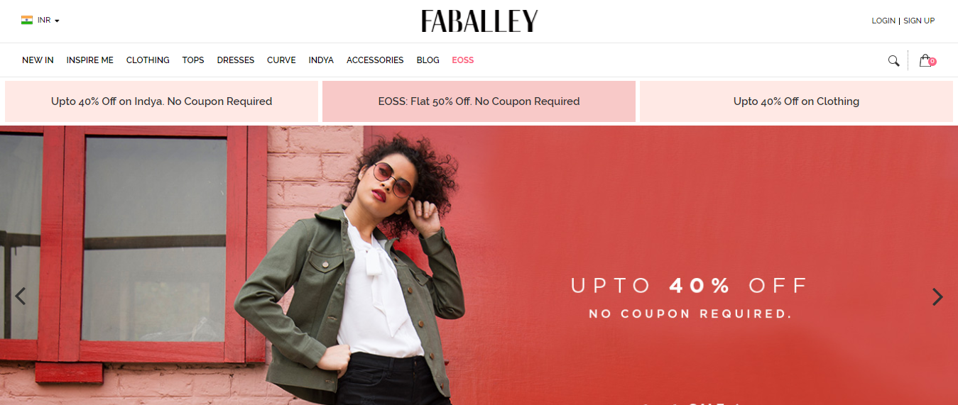 Online Shopping Site for Women in India - FabAlley