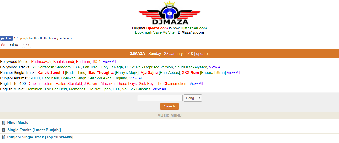 Djmaza - Unblocked music sites