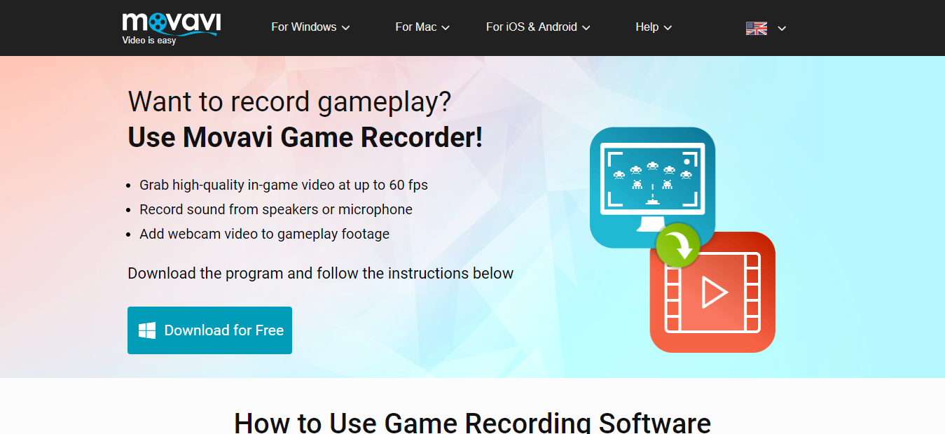 Movavi Game Screen Recorder Review