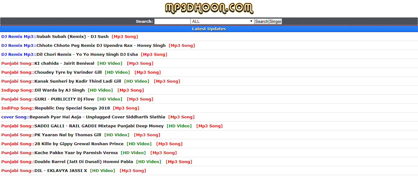 Mp3Dhoon - Unblocked music sites