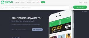 Saavn - unlocked music site