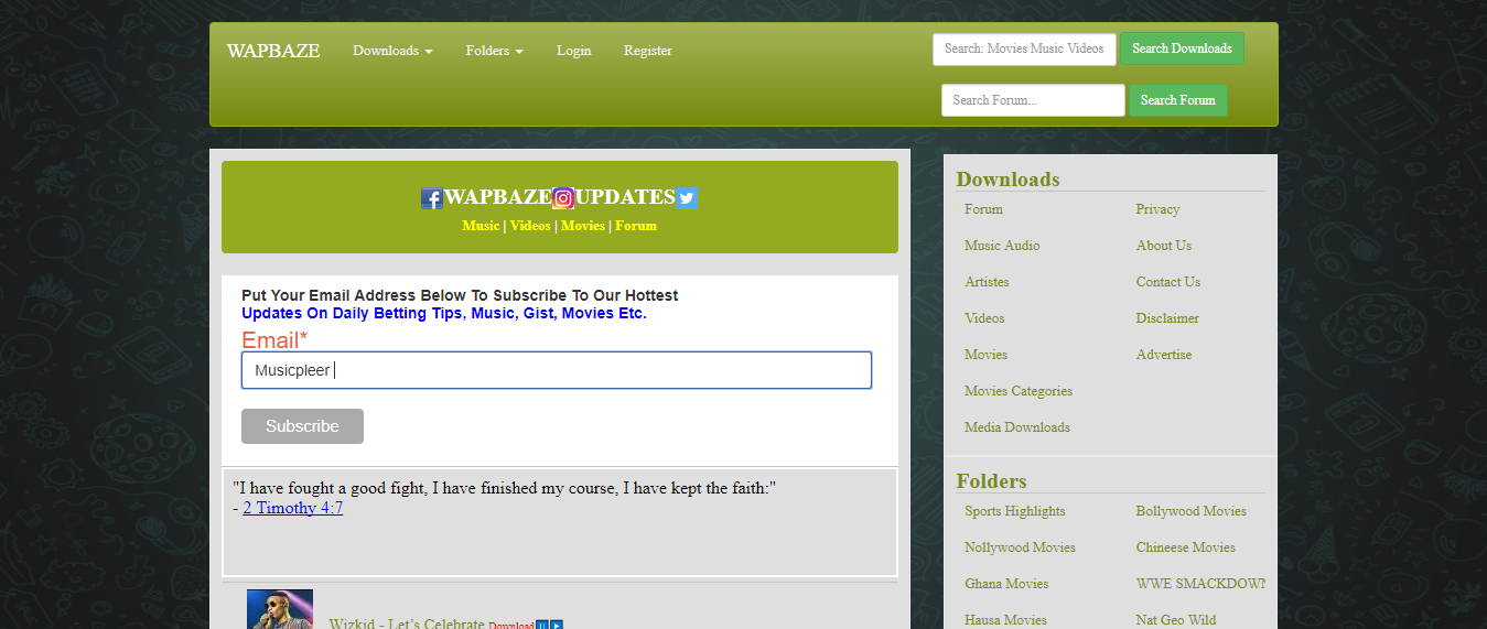 Wapbaze - unblocked mp3 sites