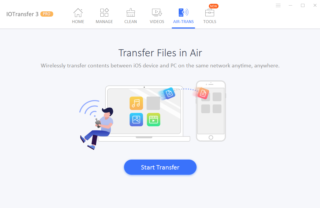 IOTransfer 3 Review - Airtrans