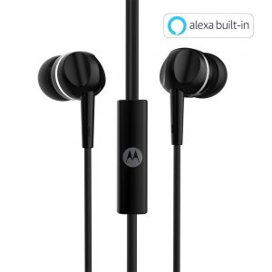 Motorola Pace 100 in-Ear Headphones with Mic Under 500