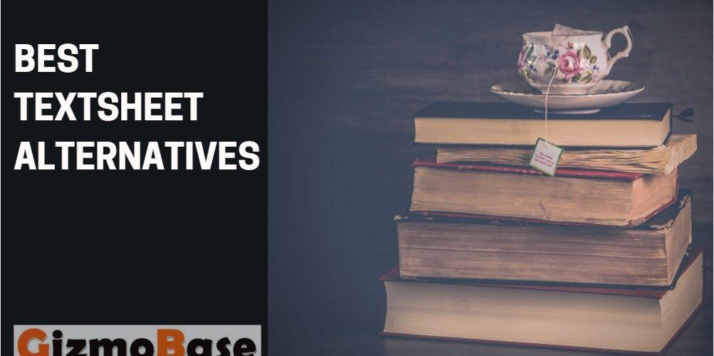 Best Textsheet Alternatives