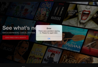 Netflix not working