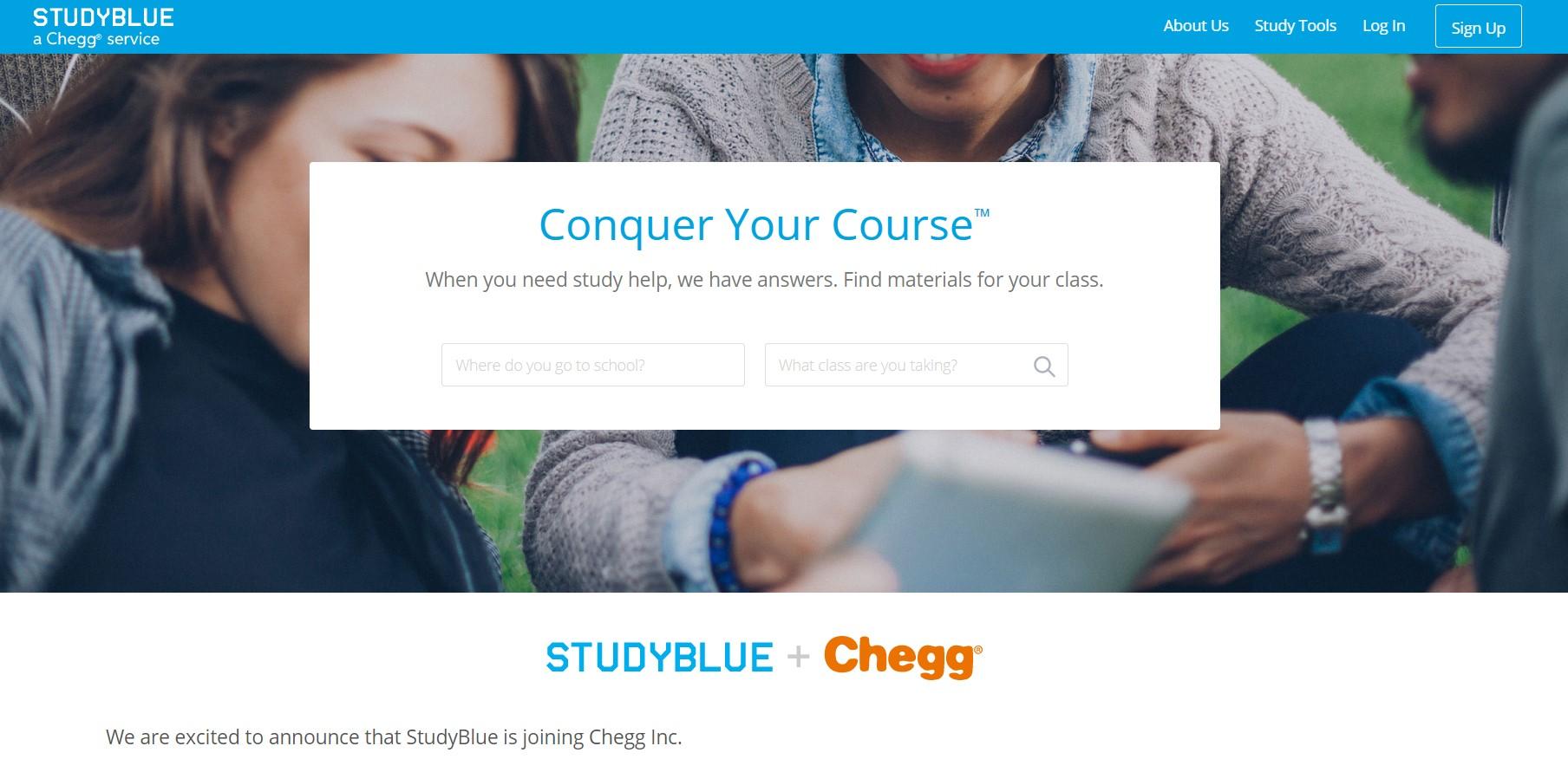 Studyblue - Textsheet alternative
