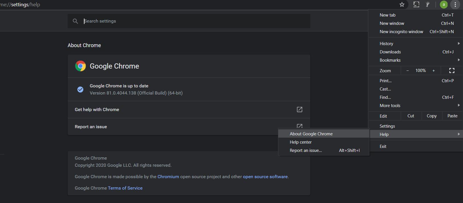 Update Chrome to fix netflix error M7111-1931-404