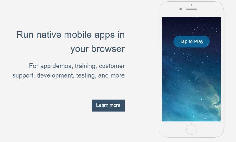 Appetize.io - iOS Emulator For PC