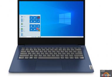 Lenovo IdeaPad 3 14 Laptop.