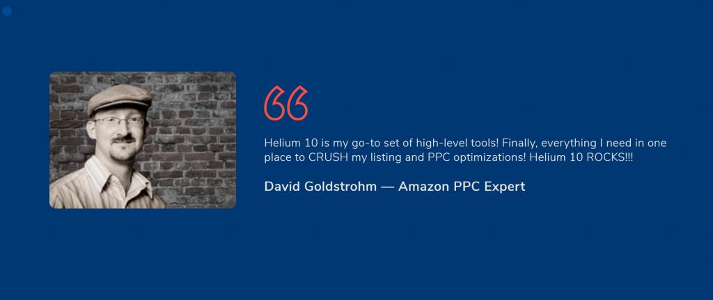 Helium 10 expert erview