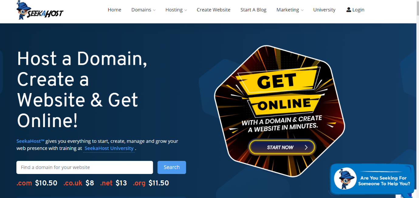 SeekaHost is the best WordPress blog hosting company