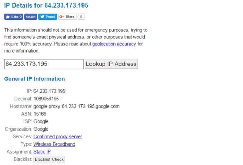 IP number