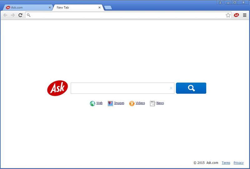 browser homepage